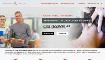 Projet Acupuncture Formation