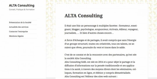 Projet Alta Consulting